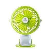 Remax (OR) Portable USB Mini Fan 360° (F2) Green