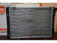 Радиатор охлаждения алюминиевый на ГАЗ Газель, 2-х рядный штырь, 3302-1301010-01, ДК