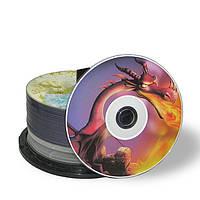 Печать фото на дисках