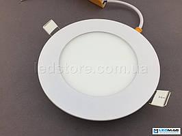 Встраиваемый светодиодный светильник BIOM 6Вт круг