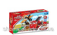 Детский конструктор Школа летачек Planes Летачки от 3 лет, 15 крупных деталей
