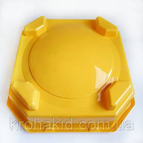 Арена для BeyBlade с ловушками 40 см (желтая), фото 2