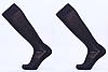 Гетры футбольные юниорские, полиэстер, p-p 32-39, черный (KS-02M-(blk))