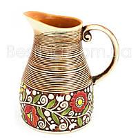 Кувшин - 1600 мл, Коричневый (Manna Ceramics) Украинка