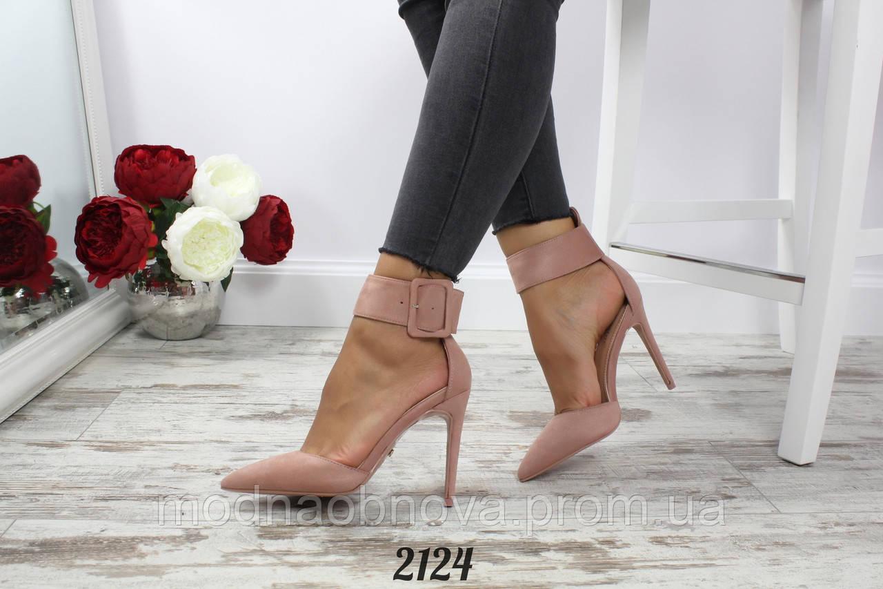 846589126 Красивые женские туфли с ремешком. 40р. - Интернет магазин