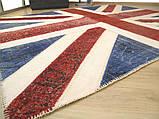 Безворсовый износоустойчивый ковер британский флаг , фото 3