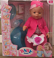 Кукла-пупс Baby Born, Оригинал, 10 функций. 8006-13-1