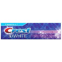 Зубная паста Crest 3D White Radiant Mint Отбеливающая 99 г