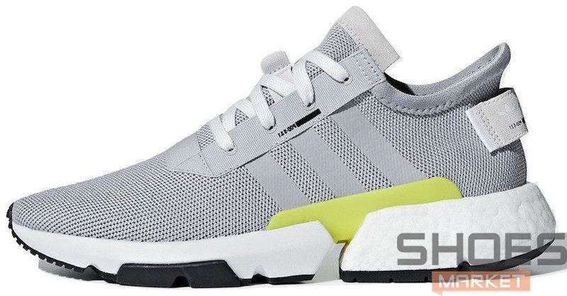 Мужские кроссовки Adidas POD-S3.1 Grey Two B37363, Адидас ПОД-С3.1