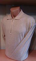 Джемпер с воротником-поло кофта с длинным рукавом мужское бренд ZILLI