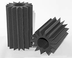 Бас пастка Ecosound ПИЛА(SAW) 0,6х0,35х0,1 м з акустичного поролону
