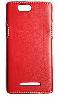 Чехол накладка Status для Samsung Galaxy J4 (2018) J400 Black Красный