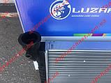 Радіатор охолодження Ваз 21073 ЛУЗАР інжектор (алюмінієвий) (LRc 01073), фото 3