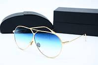 Солнцезащитные очки Dior голубые, фото 1