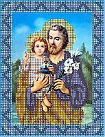 """Схема для вышивки  """"Иосиф с Иисусом """""""