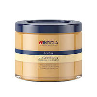 Маска Indola Glamorous Oil Shimmer Treatment для гладкости и блеска волос 200 мл