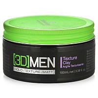 Текстурирующая глина для волос Schwarzkopf 3D Men Texture Clay 100 мл