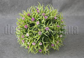 Шар с цветками 15 см