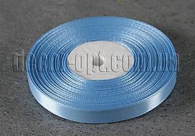 Лента атласная голубая 0,9 см 36ярд 20