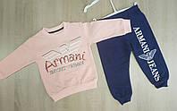 Спортивный костюм Armani, 1,5-5 лет, розовый, фото 1
