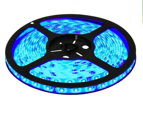 Светодиодная лента B-LED 3528-60 B IP65 синий, герметичная, 5метров