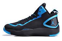 Баскетбольные кроссовки Nike Air Jordan Super Fly 2 PO black