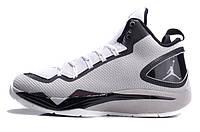 Баскетбольные кроссовки Nike Air Jordan Super Fly 2 PO grey