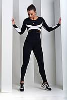 Спортивные женские лосины «Classic» c высоким поясом