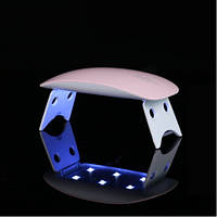 LED+UV лампа для маникюра SUNmini 6W