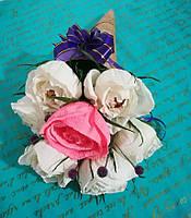 Букет из конфет Розы мини