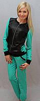Женский костюм с плащевки мята, фото 1