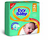 Підгузники Evy Baby Mini Jumbo 2 (3-6 кг), 80 шт