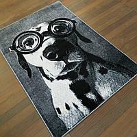 Ковер детский Kolibri черно-белая собачка 2.00х3.00 м, фото 1