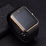 Смарт часы (Smart Watch) UWatch Smart GT08 Gold, фото 4