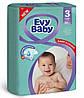 Підгузники дитячі Evy Baby Midi Jumbo 3 (5-9 кг), 68 шт