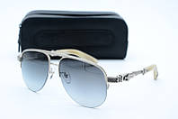Солнцезащитные очки Chrome Hearts серые, фото 1