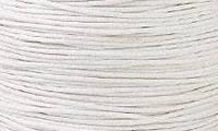 Вощенный шнур молочно-сероватый (примерно 400 м)