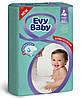 Підгузники дитячі Evy Baby Maxi Jumbo 4 (7-18 кг), 64 шт