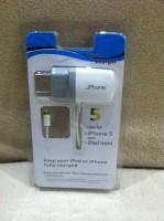 Зарядное Устройство  для iPhone 5 и iPad, зарядка для Айфон и Айпад, Travel Charger