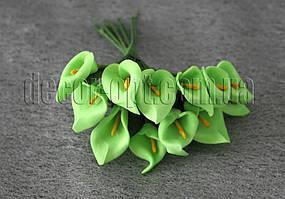 Зеленые калы из латекса