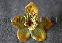 Орхидея  голова сатин 15 см