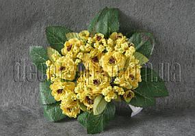 Веночек из желтых цветов 15 см