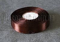 Лента атласная коричневая 2,00 см 36ярд 32