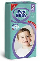 Підгузники Evy Baby Junior Jumbo 5 (11-25), 48 шт, фото 1