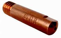 Наконечник токосъемный Ф1,0 М6х25 E-Cu
