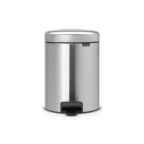 Ведро для мусора Brabantia Pedal Bin 5 л Matt Steel (112645)