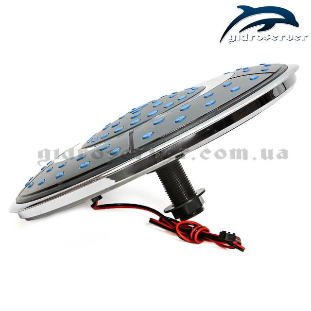 Лейка потолочная с подсветкой для душевой кабины, гидробокса L ― 250 Lamp с диаметром 250 мм.
