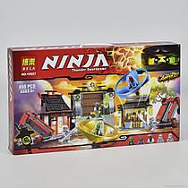 """Конструктор """"NJ"""" 10527 (18) """"Аэроджитцу: Поле битвы"""", 686 деталей, в коробке"""