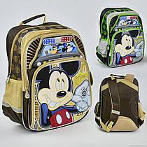 Рюкзак МВ 0479 / 555-512 (20) 2 цвета, 4 отделения, 2 кармана, брелок, ортопедическая спинка