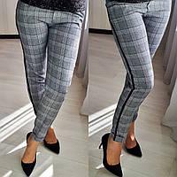 Женские брюки с лампасами / костюмная ткань / Украина 26-055-1, фото 1
